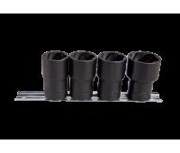 Набор головок для снятия поврежденных гаек King Tony 9TD034MR