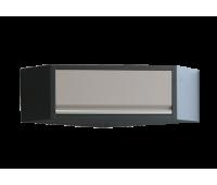 Навесной шкаф угловой серый King Tony 87D11-15A-KG
