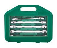 Набор карданых ключей Jonnesway 8-19 мм, 6 предметов W43A106S