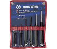 Выколотки в наборе KING TONY 6 предметов 2-8мм в чехле 1006PR