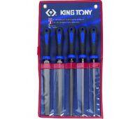 Набор напильников KING TONY с рукоятками 5 предметов 10'' 1015GQ