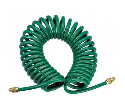 Шланг 10м спиральный для пневмоинструмента 8ммх12мм JAZ-7214Y