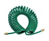 Шланг 15м спиральный для пневмоинструмента 8ммх12мм JAZ-7214Z