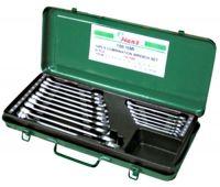 Набор ключей HANS 6-24 мм 16 предметов металический кейс 16616MI