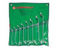 Набор ключей Jonnesway накидных 75-гр, 6-22 мм, 8 предметов W23108S