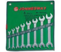 Набор ключей рожковых JONNESWAY 6-22мм, 8 предметов W25108S