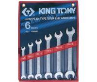 Набор ключей рожковых KING TONY 6 шт 8-19 1106MR