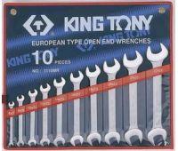 Набор ключей рожковых KING TONY 6-28мм 10 предметов 1110MR