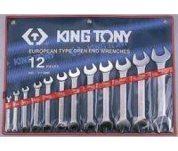 Набор ключей рожковых KING TONY 12 предметов 1112MR