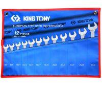 Набор ключей рожковых KING TONY 12 предметов 6-32мм 1112MRN