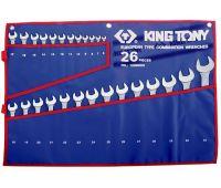 Набор ключей KING TONY 26 предметов 6-32 мм 1226MRN