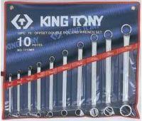 Набор ключей накидных KING TONY 10 предметов 1710MR