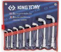 Набор ключей Г-образных KING TONY 8 предметов 8-19 мм 1808MR