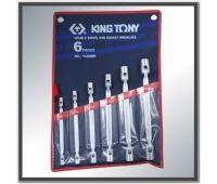 Набор ключей торцевых с карданом KING TONY 6-19мм 1A06MR