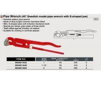 Ключ трубный рычажный TOPTUL 65мм L560