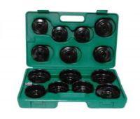 Комплект чашек для съема масленных фильтров 65-100 мм, 14 предметов