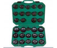 Комплект чашек для съема масленных фильтров 65-120 мм, 30 предметов