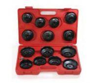 Набор съемников масляных фильтров 14 предметов (крышка) JW0001 JTC