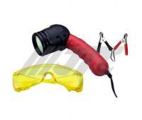 Ультрафиолетовый фонарь и очки для определения утечки фреона 1444 JTC