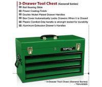 Ящик для инструмента TOPTUL 3 секции 508(L)x232(W)x302(H)mm TBAA0303