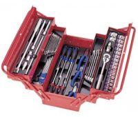 Набор инструментов KING TONY в ящике 62 предмета 902-062MR